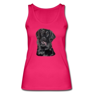 flatcoated retriever p - Øko tank top til damer