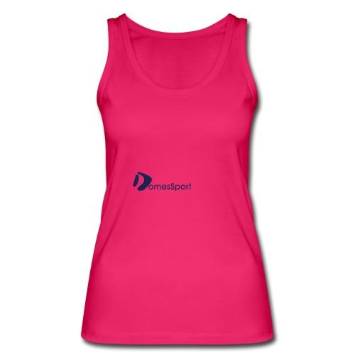 Logo DomesSport Blue noBg - Frauen Bio Tank Top von Stanley & Stella