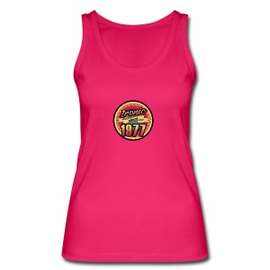 Gift for the 40th birthday - vintage 1977 - Women's Organic Tank Top