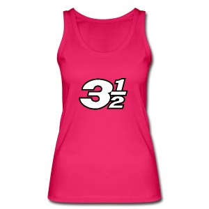 Three and a Half Logo - Women's Organic Tank Top by Stanley & Stella