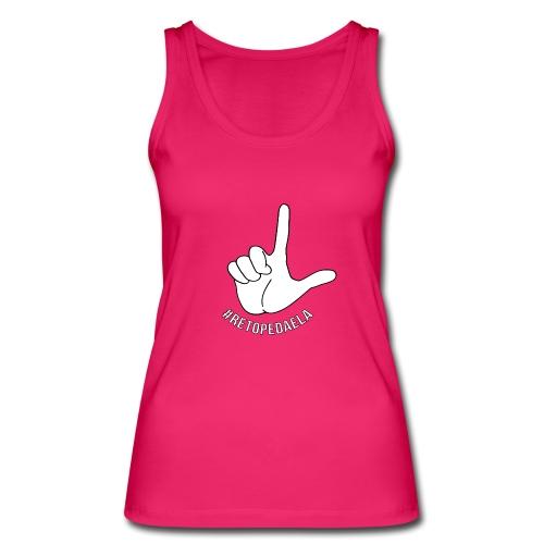 Dedo Big - #RetoPedaEla - Camiseta de tirantes ecológica mujer de Stanley & Stella