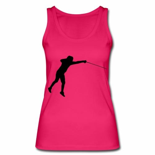 Jumping Fencer - Frauen Bio Tank Top von Stanley & Stella