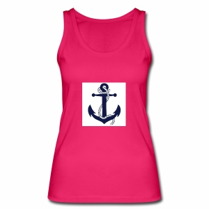 Anchor2 - Women's Organic Tank Top by Stanley & Stella