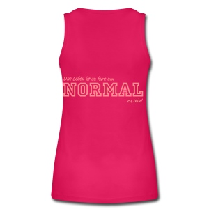 NORMAL - Frauen Bio Tank Top von Stanley & Stella