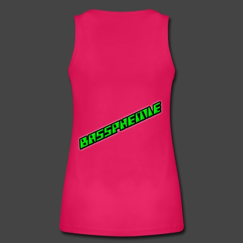 Bassphemie - Neongrün II - Frauen Bio Tank Top von Stanley & Stella