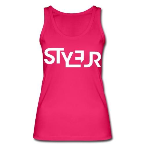 styleur logo spreadhsirt - Frauen Bio Tank Top von Stanley & Stella