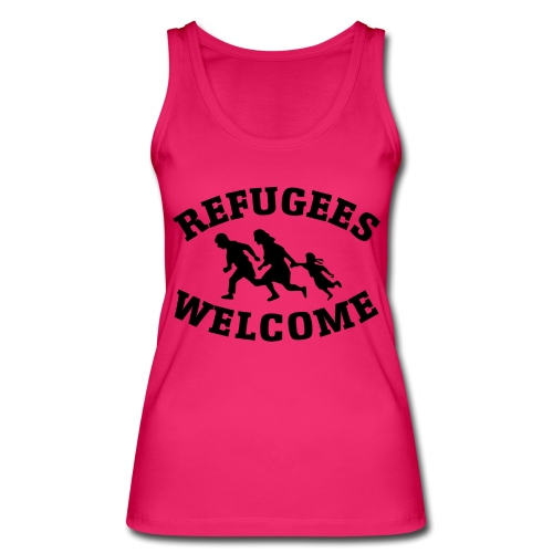 Refugees Welcome - Débardeur bio Femme