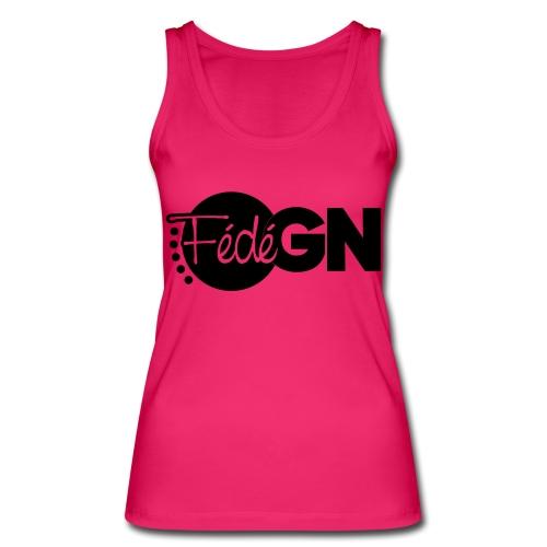 Logo FédéGN pantone - Débardeur bio Femme