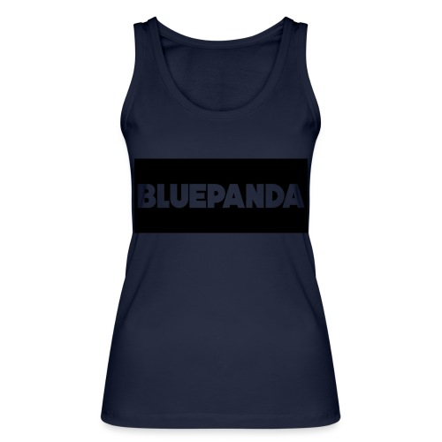 BLUE PANDA - Women's Organic Tank Top by Stanley & Stella