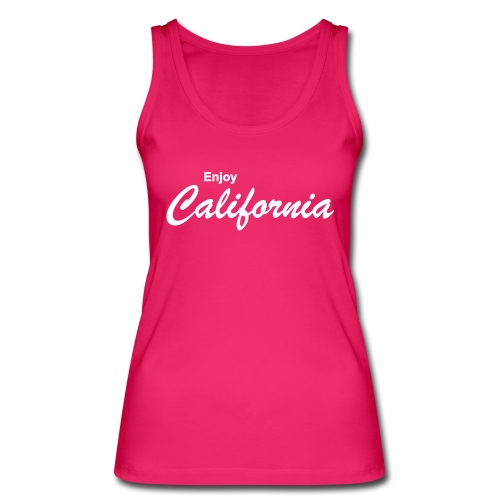 Enjoy California - Frauen Bio Tank Top von Stanley & Stella