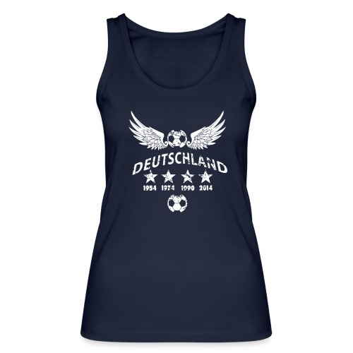 Germany football 2018 - Frauen Bio Tank Top von Stanley & Stella
