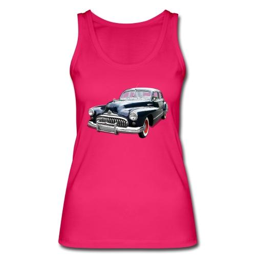 Classic Car. Buick zwart. - Vrouwen bio tanktop van Stanley & Stella