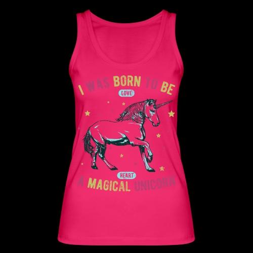 Magical Unicorn - Frauen Bio Tank Top von Stanley & Stella