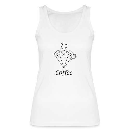 Coffee Diamant - Frauen Bio Tank Top von Stanley & Stella