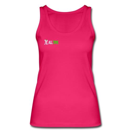 fit all time pink ohne ba - Frauen Bio Tank Top von Stanley & Stella