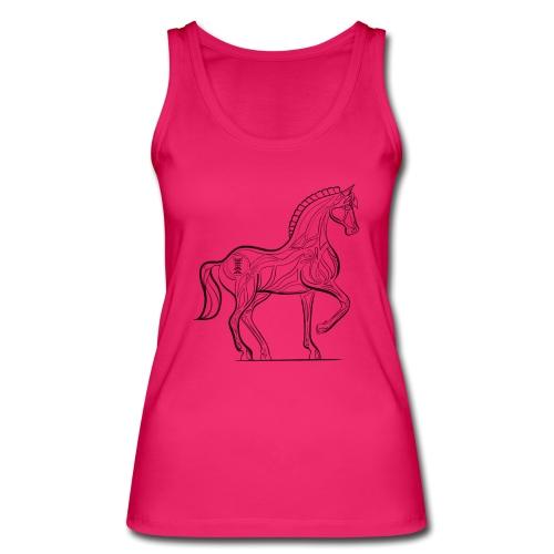 Equus Pferd - Frauen Bio Tank Top von Stanley & Stella