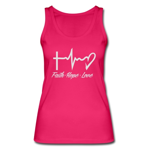 FAITH HOPE LOVE - Women's Organic Tank Top by Stanley & Stella