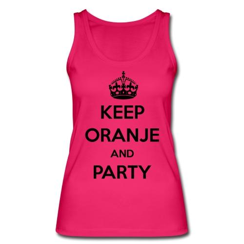 KEEP ORANJE AND PARTY - Vrouwen bio tanktop van Stanley & Stella