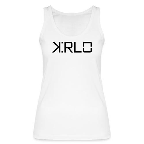 Kirlo Logotipo Negro - Camiseta de tirantes ecológica mujer de Stanley & Stella