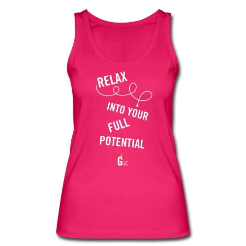 Relax into your full potential I v2 - Women's Organic Tank Top by Stanley & Stella