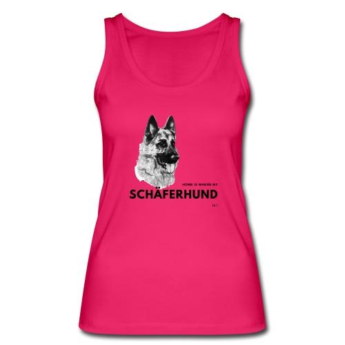 Home is where my Schäferhund is ! - Frauen Bio Tank Top von Stanley & Stella