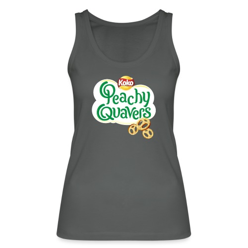 Peachy Quavers - Women's Organic Tank Top by Stanley & Stella