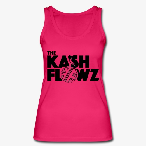 The Kash Flowz Official Bomb Black - Débardeur bio Femme