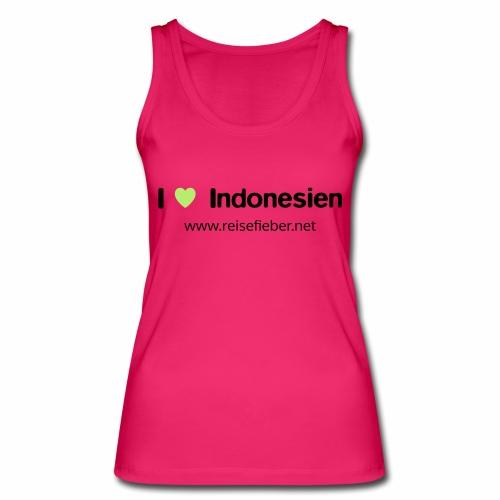 I love Indonesien - Frauen Bio Tank Top von Stanley & Stella