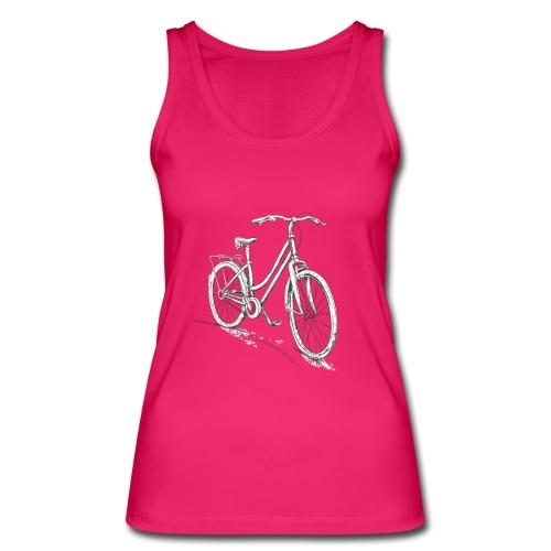 Fahrrad Für Damen Zeichnung - Frauen Bio Tank Top von Stanley & Stella