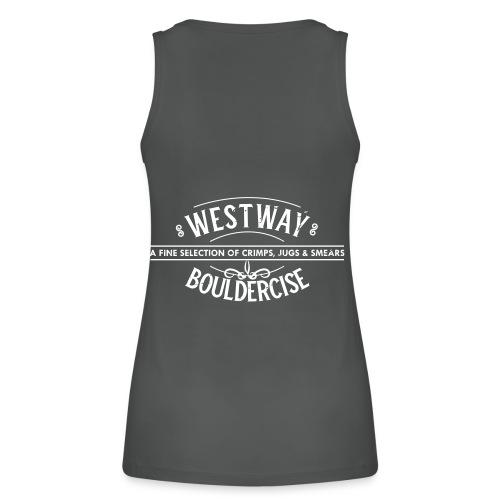 westway-crimps distressed - Women's Organic Tank Top by Stanley & Stella
