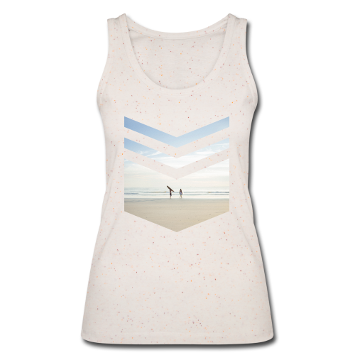 Surf Beach Triangle - Frauen Bio Tank Top von Stanley & Stella