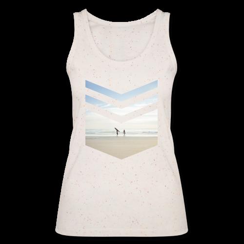 Surfing Beach - Frauen Bio Tank Top von Stanley & Stella