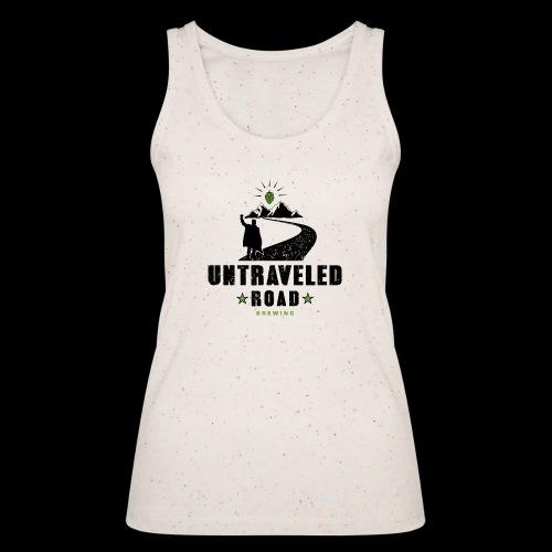 Untraveled Road Logo - black/small - Frauen Bio Tank Top von Stanley & Stella