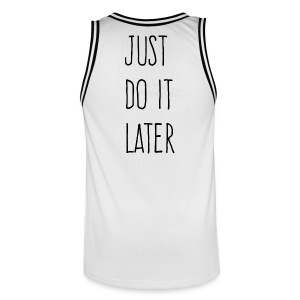 Just Do It Later - Men's Basketball Jersey