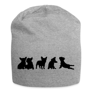 Frenchie-Collection - freie Farbwahl - Jersey-Beanie