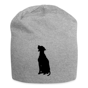 Dogge - freie Farbwahl - Jersey-Beanie