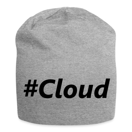#Cloud black - Jersey-Beanie