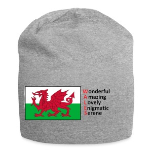 wales_letters - Jersey Beanie