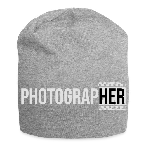 Photographing-her - Jersey Beanie