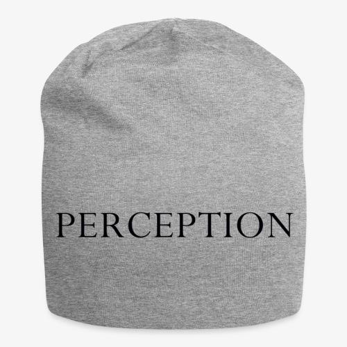 PERCEPTION NOIR - Bonnet en jersey