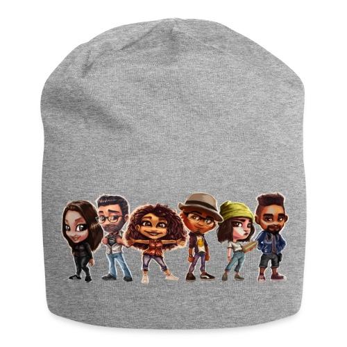 banniere Team A base de Pop pop pop pop - Bonnet en jersey