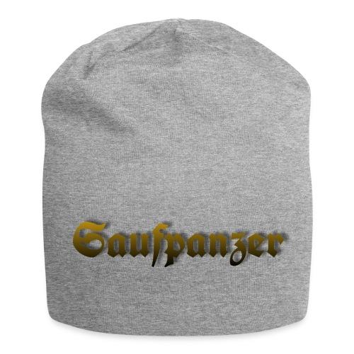 Saufpanzer_Schriftzug_Gold - Jersey-Beanie