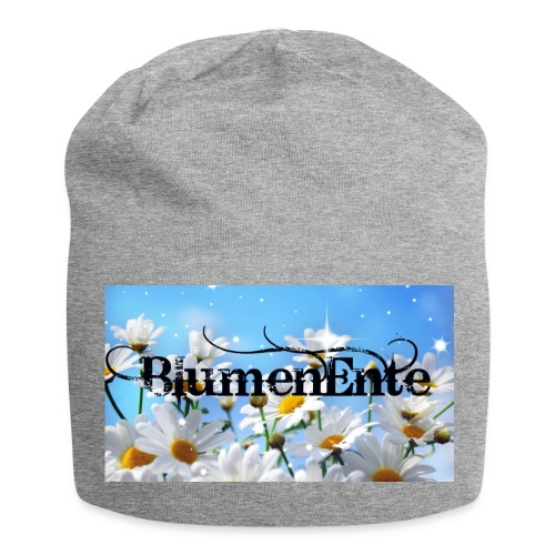 BlumenEnte - Jersey-Beanie