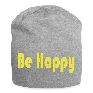 be happy - Jersey Beanie