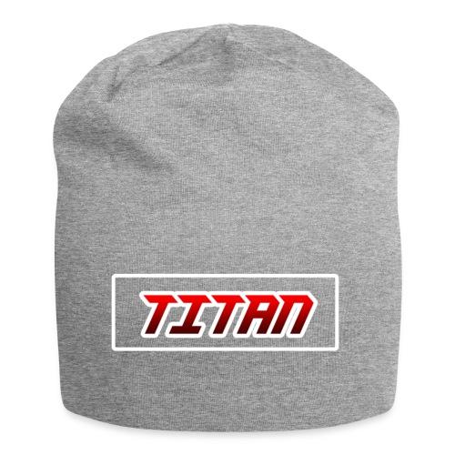 Mütze Titan grau - Jersey-Beanie