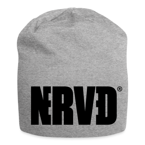 Official Nerved® Logo Black - Jersey Beanie