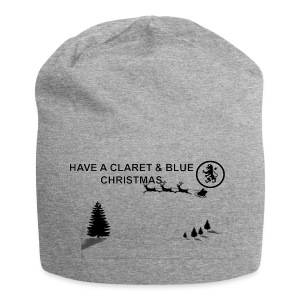 Claret and Blue Xmas - Jersey Beanie