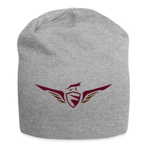 FCON Logo (New) Burgundy Red - Jersey Beanie