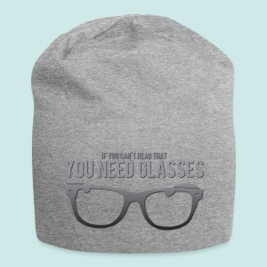 Need Glasses - Black - Bonnet en jersey
