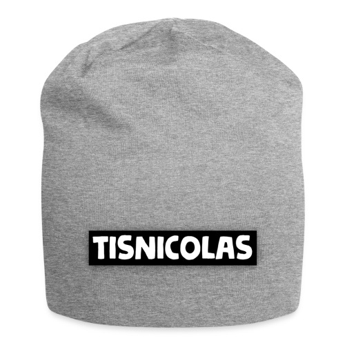 text tisnicolas - Jersey-Beanie